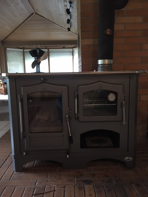 regina wood cook stove