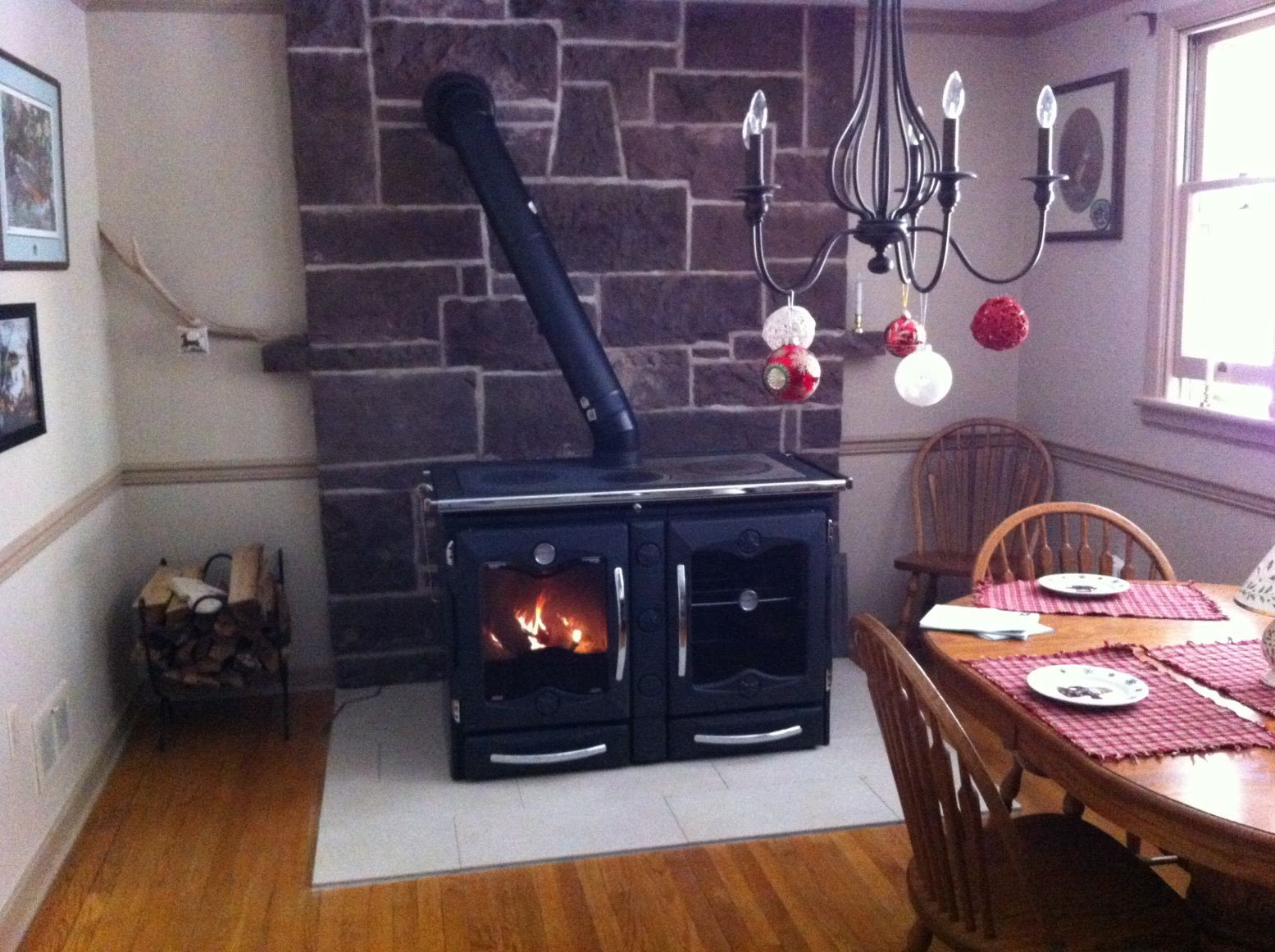 La Nordica America Wood Cook Stove