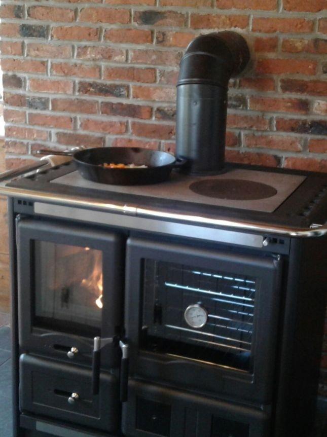 """Wood Burning Cook Stove La Nordica """"Rosa L"""""""