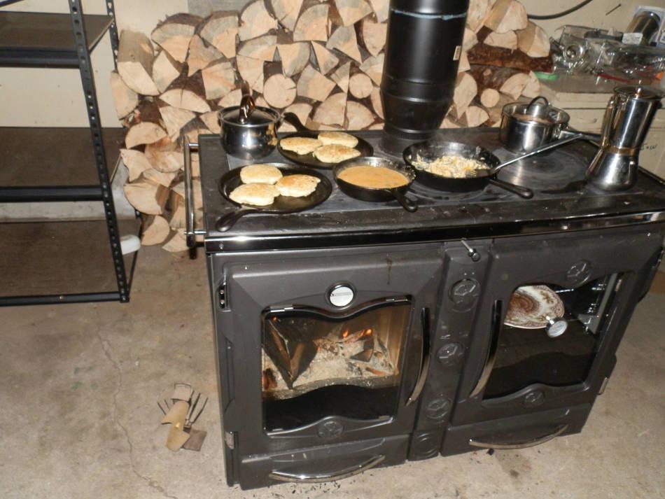 cook stove firebox